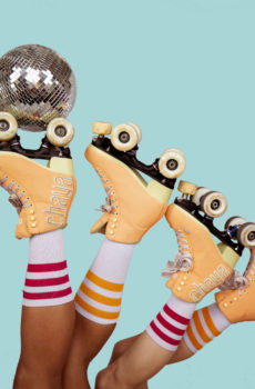 roller disco at CCA